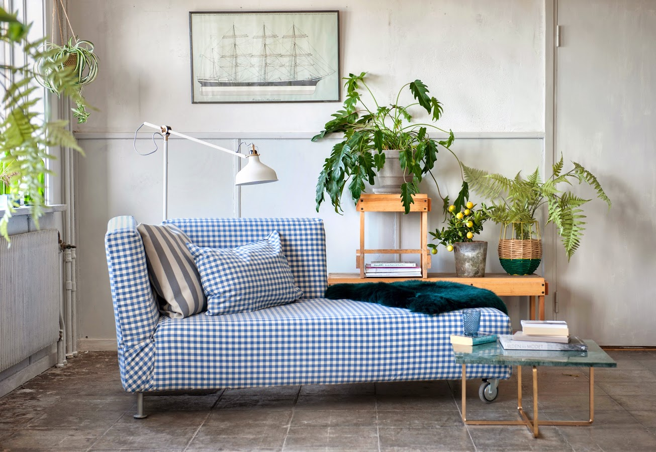 Blue and more blue with bemz doux you love me for Falsterbo ikea